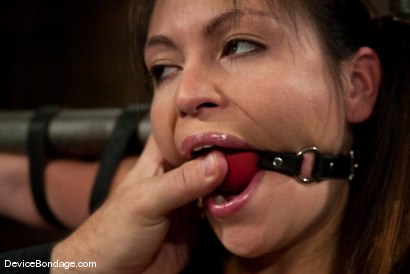 Photo number 1 from Thea Marie<br> Crucifucked shot for Device Bondage on Kink.com. Featuring Thea Marie in hardcore BDSM & Fetish porn.