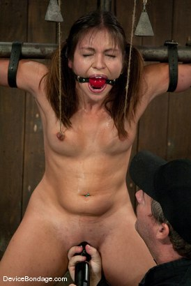 Photo number 11 from Thea Marie<br> Crucifucked shot for Device Bondage on Kink.com. Featuring Thea Marie in hardcore BDSM & Fetish porn.