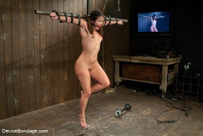 Photo number 12 from Thea Marie<br> Crucifucked shot for Device Bondage on Kink.com. Featuring Thea Marie in hardcore BDSM & Fetish porn.