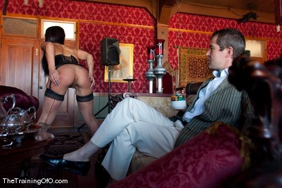 Photo number 12 from The Training of Jade Indica Day Four shot for The Training Of O on Kink.com. Featuring Miss Jade Indica, Maestro, Angelica Saige, Aiden Starr, Jessie Cox and Isis Love in hardcore BDSM & Fetish porn.