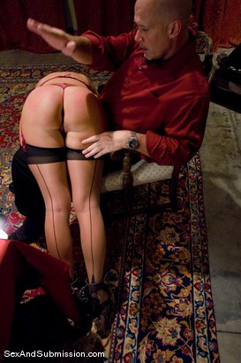 Photo number 5 from Angelica Saige shot for Sex And Submission on Kink.com. Featuring Mark Davis and Angelica Saige in hardcore BDSM & Fetish porn.