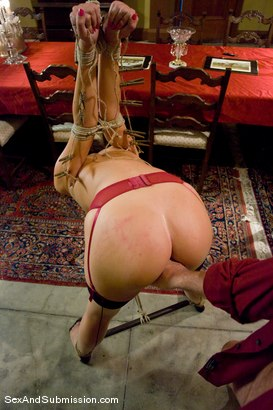 Photo number 11 from Angelica Saige shot for Sex And Submission on Kink.com. Featuring Mark Davis and Angelica Saige in hardcore BDSM & Fetish porn.