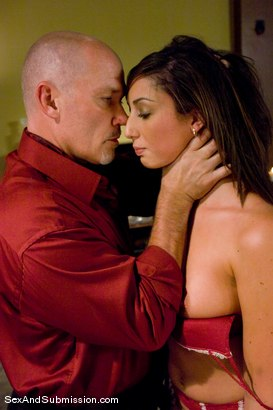 Photo number 3 from Angelica Saige shot for Sex And Submission on Kink.com. Featuring Mark Davis and Angelica Saige in hardcore BDSM & Fetish porn.