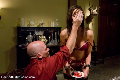 Photo number 4 from Angelica Saige shot for Sex And Submission on Kink.com. Featuring Mark Davis and Angelica Saige in hardcore BDSM & Fetish porn.