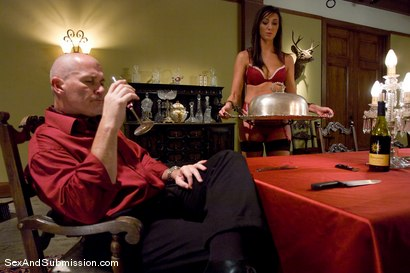 Photo number 1 from Angelica Saige shot for Sex And Submission on Kink.com. Featuring Mark Davis and Angelica Saige in hardcore BDSM & Fetish porn.