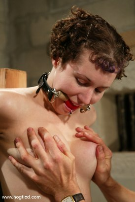 Photo number 13 from Hot Goth Girl Bound shot for Hogtied on Kink.com. Featuring Dolores Haze in hardcore BDSM & Fetish porn.