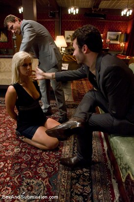Photo number 1 from The Sacrifice shot for Sex And Submission on Kink.com. Featuring Mr. Pete, James Deen and Tara Lynn Foxx in hardcore BDSM & Fetish porn.