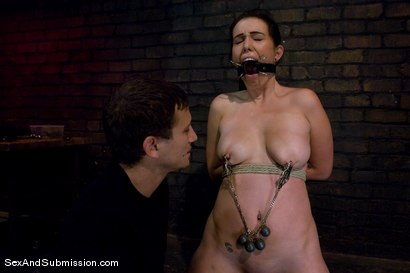 Photo number 6 from Cherry Cream Pie shot for Sex And Submission on Kink.com. Featuring Mr. Pete and Cherry Ferretti in hardcore BDSM & Fetish porn.
