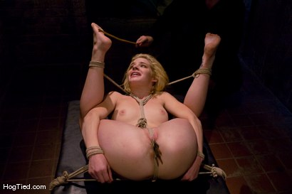 Photo number 11 from Ally Ann: Whining bitch takes what is given to her shot for Hogtied on Kink.com. Featuring Ally Ann in hardcore BDSM & Fetish porn.
