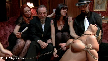 Photo number 3 from Mellanie Monroe: Big Tittied Milf is used as the Armory Fuck Hole for a Night shot for Public Disgrace on Kink.com. Featuring John Strong and Mellanie Monroe in hardcore BDSM & Fetish porn.