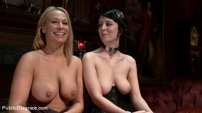 Photo number 15 from Mellanie Monroe: Big Tittied Milf is used as the Armory Fuck Hole for a Night shot for Public Disgrace on Kink.com. Featuring John Strong and Mellanie Monroe in hardcore BDSM & Fetish porn.
