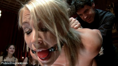Photo number 5 from Mellanie Monroe: Big Tittied Milf is used as the Armory Fuck Hole for a Night shot for Public Disgrace on Kink.com. Featuring John Strong and Mellanie Monroe in hardcore BDSM & Fetish porn.