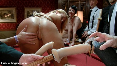 Photo number 6 from Mellanie Monroe: Big Tittied Milf is used as the Armory Fuck Hole for a Night shot for Public Disgrace on Kink.com. Featuring John Strong and Mellanie Monroe in hardcore BDSM & Fetish porn.