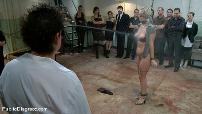 Photo number 1 from Hot 19 Year old Blonde gets Double Stuffed shot for Public Disgrace on Kink.com. Featuring Tara Lynn Foxx and Randy Spears in hardcore BDSM & Fetish porn.