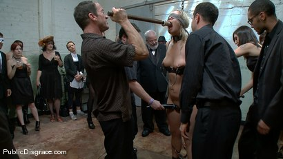 Photo number 3 from Hot 19 Year old Blonde gets Double Stuffed shot for Public Disgrace on Kink.com. Featuring Tara Lynn Foxx and Randy Spears in hardcore BDSM & Fetish porn.