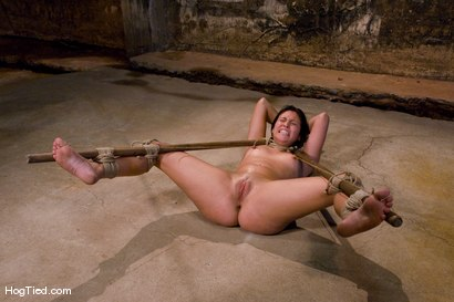 Photo number 9 from The smile has been wiped off Thea's face  shot for Hogtied on Kink.com. Featuring Thea Marie in hardcore BDSM & Fetish porn.