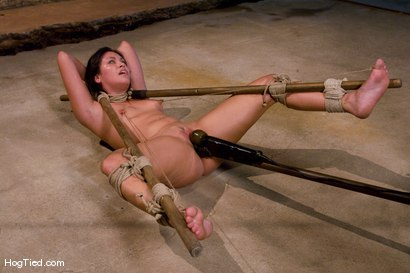 Photo number 11 from The smile has been wiped off Thea's face  shot for Hogtied on Kink.com. Featuring Thea Marie in hardcore BDSM & Fetish porn.
