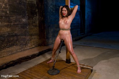 Photo number 8 from The smile has been wiped off Thea's face  shot for Hogtied on Kink.com. Featuring Thea Marie in hardcore BDSM & Fetish porn.