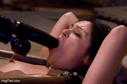 Photo number 10 from The smile has been wiped off Thea's face  shot for Hogtied on Kink.com. Featuring Thea Marie in hardcore BDSM & Fetish porn.