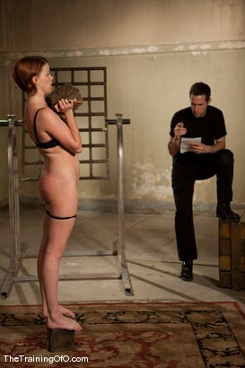 Photo number 4 from The Training of Lilla Katt, Day One shot for The Training Of O on Kink.com. Featuring Lilla Katt and Maestro in hardcore BDSM & Fetish porn.