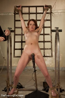 Photo number 6 from The Training of Lilla Katt, Day One shot for The Training Of O on Kink.com. Featuring Lilla Katt and Maestro in hardcore BDSM & Fetish porn.