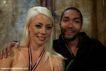 """Photo number 7 from Fresh Meat: Episode 1 """"Tease and Denial"""" shot for Divine Bitches on Kink.com. Featuring Lorelei Lee and Mickey Mod in hardcore BDSM & Fetish porn."""