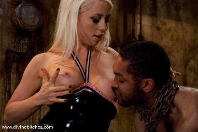"""Photo number 8 from Fresh Meat: Episode 1 """"Tease and Denial"""" shot for Divine Bitches on Kink.com. Featuring Lorelei Lee and Mickey Mod in hardcore BDSM & Fetish porn."""