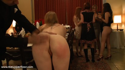 Photo number 4 from Black Friday Brunch: Shevon Petitions the House shot for The Upper Floor on Kink.com. Featuring Cherry Torn, Sarah Shevon, Winter Sky and Maestro in hardcore BDSM & Fetish porn.