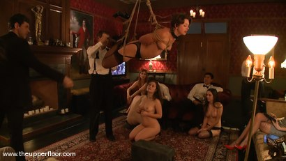 Photo number 10 from Black Friday Brunch: Shevon Petitions the House shot for The Upper Floor on Kink.com. Featuring Cherry Torn, Sarah Shevon, Winter Sky and Maestro in hardcore BDSM & Fetish porn.