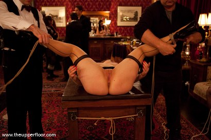 Photo number 4 from Boxing Day shot for The Upper Floor on Kink.com. Featuring Maestro, Kade, Charlotte Vale, Sarah Shevon and Maggie Mayhem in hardcore BDSM & Fetish porn.