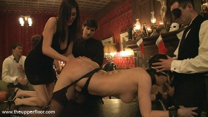 Photo number 1 from New Year Orgy shot for The Upper Floor on Kink.com. Featuring Cherry Torn and Hollie Stevens in hardcore BDSM & Fetish porn.