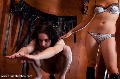 Photo number 12 from The Training of a Houseboy: Episode 2 shot for Divine Bitches on Kink.com. Featuring Lorelei Lee and Kade in hardcore BDSM & Fetish porn.