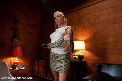Photo number 2 from The Training of a Houseboy: Episode 2 shot for Divine Bitches on Kink.com. Featuring Lorelei Lee and Kade in hardcore BDSM & Fetish porn.