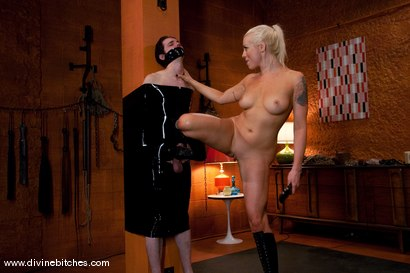 Photo number 13 from The Training of a Houseboy: Episode 2 shot for Divine Bitches on Kink.com. Featuring Lorelei Lee and Kade in hardcore BDSM & Fetish porn.