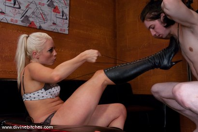 Photo number 3 from The Training of a Houseboy: Episode 2 shot for Divine Bitches on Kink.com. Featuring Lorelei Lee and Kade in hardcore BDSM & Fetish porn.