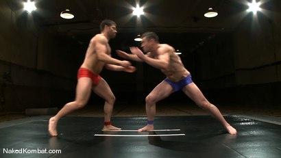 Photo number 1 from Dean Tucker vs Tristan Jaxx shot for Naked Kombat on Kink.com. Featuring Dean Tucker and Tristan Jaxx in hardcore BDSM & Fetish porn.