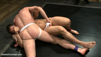 Photo number 6 from Dean Tucker vs Tristan Jaxx shot for Naked Kombat on Kink.com. Featuring Dean Tucker and Tristan Jaxx in hardcore BDSM & Fetish porn.