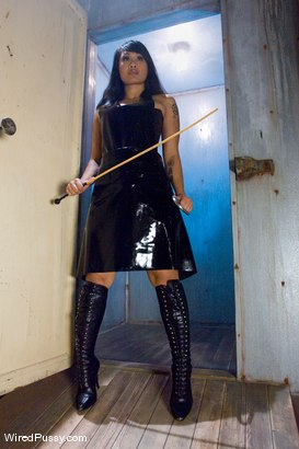 Photo number 1 from Dragonlily and her catch, Marie McCray shot for Wired Pussy on Kink.com. Featuring DragonLily and Marie McCray in hardcore BDSM & Fetish porn.