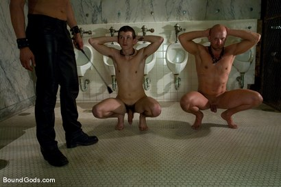 Photo number 1 from Housekeeping shot for Bound Gods on Kink.com. Featuring Van Darkholme, Devin Moss and Chad Rock in hardcore BDSM & Fetish porn.