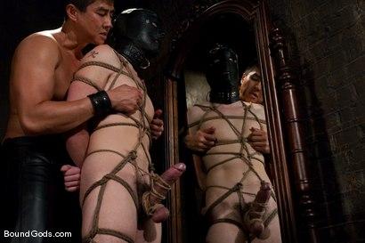 Photo number 10 from Housekeeping shot for Bound Gods on Kink.com. Featuring Van Darkholme, Devin Moss and Chad Rock in hardcore BDSM & Fetish porn.