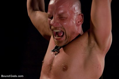 Photo number 5 from Housekeeping shot for Bound Gods on Kink.com. Featuring Van Darkholme, Devin Moss and Chad Rock in hardcore BDSM & Fetish porn.