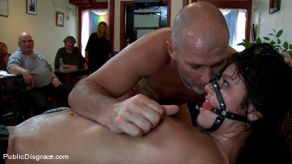 Photo number 12 from Wicked Grounds shot for Public Disgrace on Kink.com. Featuring Sadie West and Mark Davis in hardcore BDSM & Fetish porn.
