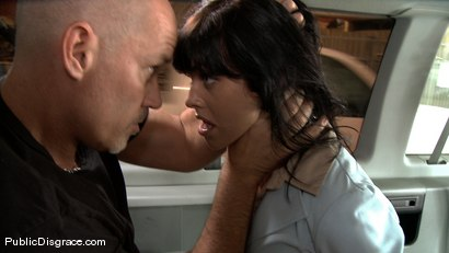 Photo number 1 from Wicked Grounds shot for Public Disgrace on Kink.com. Featuring Sadie West and Mark Davis in hardcore BDSM & Fetish porn.