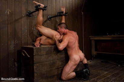 Photo number 11 from Slick Nick shot for Bound Gods on Kink.com. Featuring Gianni Luca and Nick Moretti in hardcore BDSM & Fetish porn.