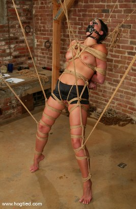 Photo number 11 from Devyn shot for Hogtied on Kink.com. Featuring Devyn in hardcore BDSM & Fetish porn.