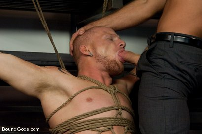 Photo number 6 from Mayhem in The Metal Shop Reloaded shot for Bound Gods on Kink.com. Featuring Josh West, Kain Warn and Luke Riley in hardcore BDSM & Fetish porn.
