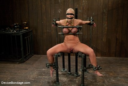 Photo number 10 from Mellanie Monroe<br> A tribute to the classic Insex (1999-2001) shot for Device Bondage on Kink.com. Featuring Mellanie Monroe in hardcore BDSM & Fetish porn.