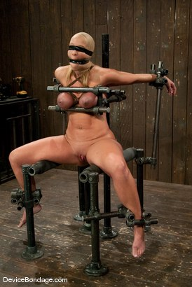 Photo number 11 from Mellanie Monroe<br> A tribute to the classic Insex (1999-2001) shot for Device Bondage on Kink.com. Featuring Mellanie Monroe in hardcore BDSM & Fetish porn.