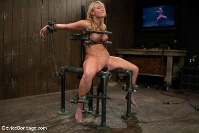 Photo number 13 from Mellanie Monroe<br> A tribute to the classic Insex (1999-2001) shot for Device Bondage on Kink.com. Featuring Mellanie Monroe in hardcore BDSM & Fetish porn.