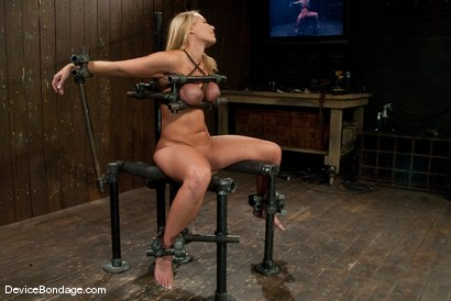 Photo number 4 from Mellanie Monroe<br> A tribute to the classic Insex (1999-2001) shot for Device Bondage on Kink.com. Featuring Mellanie Monroe in hardcore BDSM & Fetish porn.